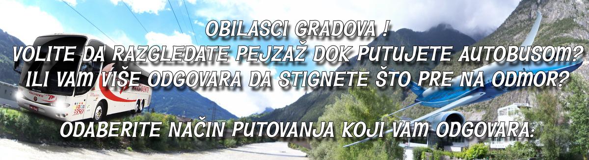 OBILASCI GRADOVA ODABIR